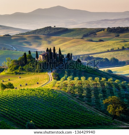 Tuscany - scenic landscape, Italy