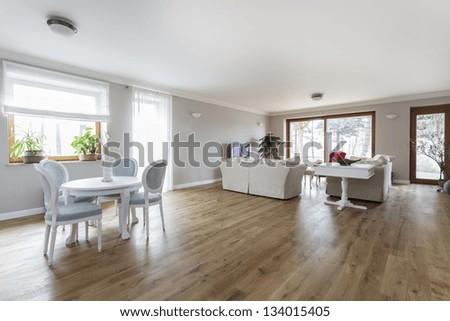 Tuscany - Spacious bright living room interior