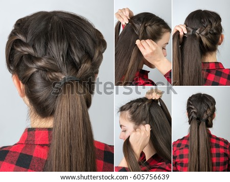 Free Photos Simple Braided Hairstyle Tutorial Step By Step Easy