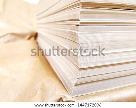 Tutu light gold cardboard for print greeting cards, folders, business cards, diplomas, posters and other typography products #1447172096