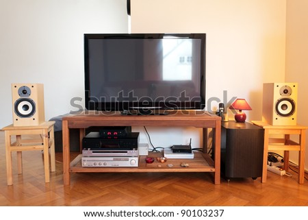 TV and home cinema equipment