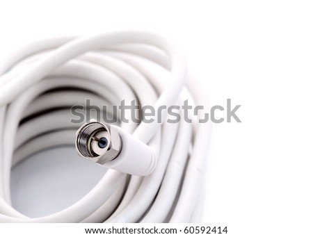TV cable with Quick-Fix connectors