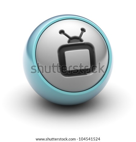 TV  Full collection of icons like that is in my portfolio