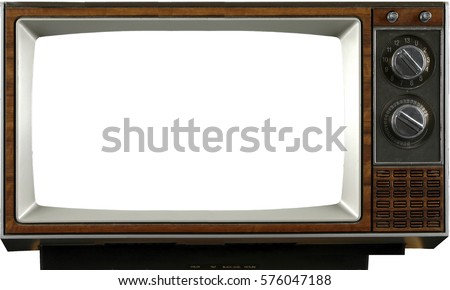 TV isolated