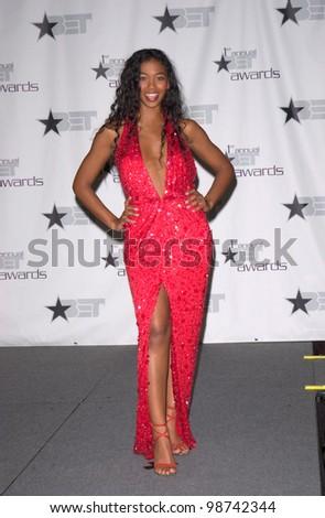 TV presenter ANANDA LEWIS at the first annual BET (Black Entertainment TV) Awards at the Paris Hotel & Casino, Las Vegas. 19JUN2001.   Paul Smith/Featureflash