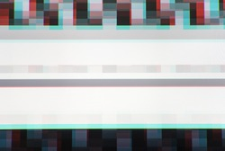 Tv screen lines static noise, abstraction background backdrop