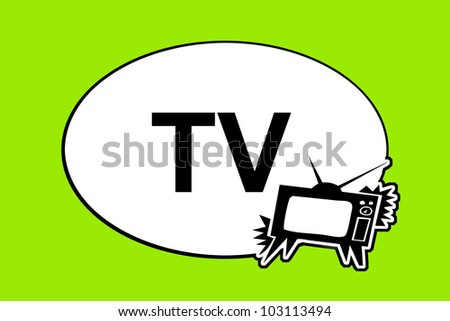 TV sign