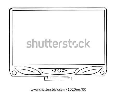 tv sketch monitor