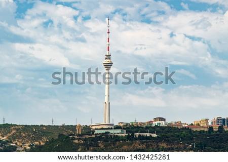 TV tower in Baku city