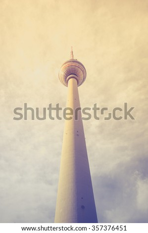 TV Tower in Berlin, Germany