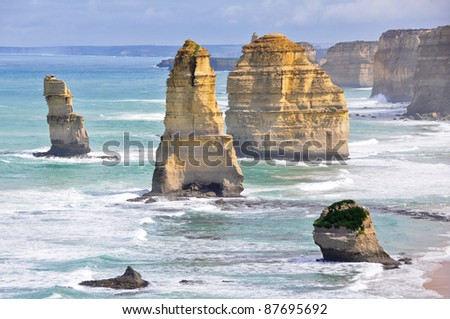 Twelve Apostles along Great Ocean Road, Victoria