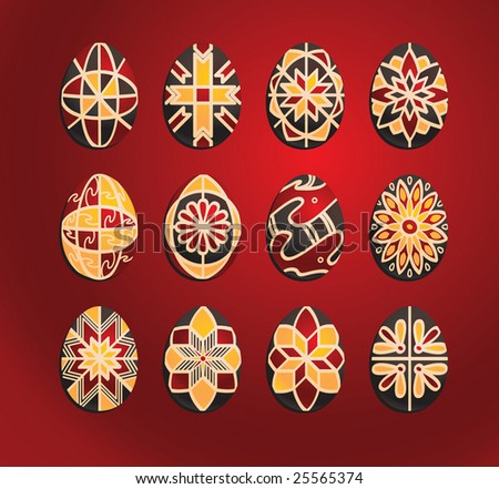 cool easter eggs designs. ukrainian easter eggs designs.