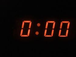 twelve o clock - midnight