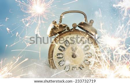 Twelve o\'Clock on New Year\'s Eve