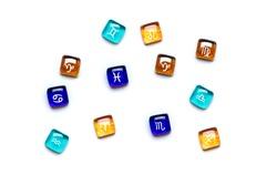 twelve signs of zodiac Three signs correspond to each element: Fire - Aries, Leo, Sagittarius, Earth -Taurus, Virgo, Capricorn, Air -Gemini, Libra, Aquarius, Water - Cancer, Scorpio, Pisces Top view