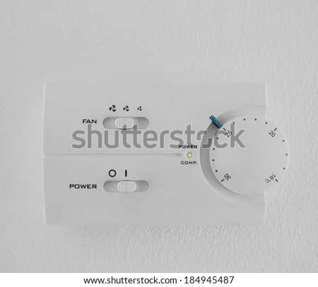 twenty five  celsius heating and cooling air conditioning white display