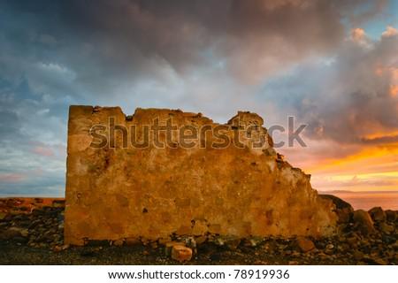 Twilight in Lanzarote
