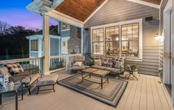 Twilight Real Estate Photography House