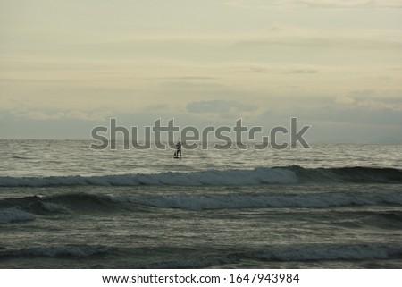 Twilight sky background. Beautiful sky on twilight time. Evening sea twilight sky,Beach on the sunset