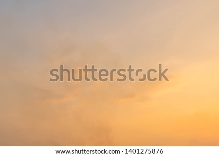 Twilight sky background with Colorful sky in twilight background. #1401275876