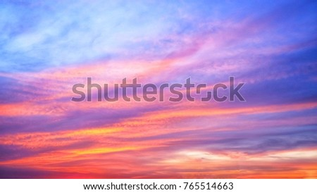 Twilight sky background with Colorful sky in twilight background #765514663