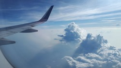 Twin Cumulonimbus..flight with garuda indonesia airline..route aceh - jakarta Indonesia
