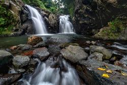 Twinfalls at secret garden Buleleng Bali