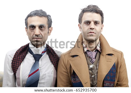 two adult man  mid 30's and mid ...