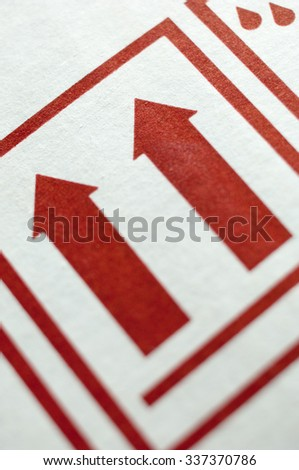 Free Photos Two Arrows Symbol Lift The Package In Upward Direction