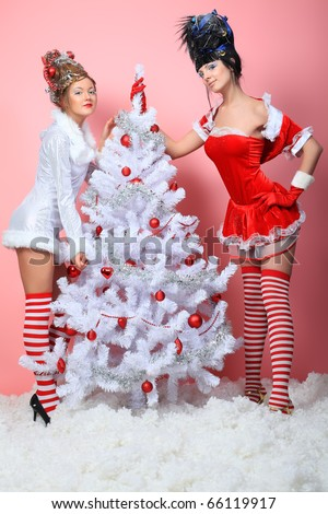 Woman Christmas Clothing
