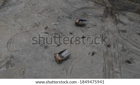 two big truck for mining