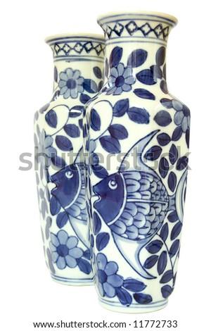 Wholesale Blue and White Porcelain Vase-Buy Blue and White