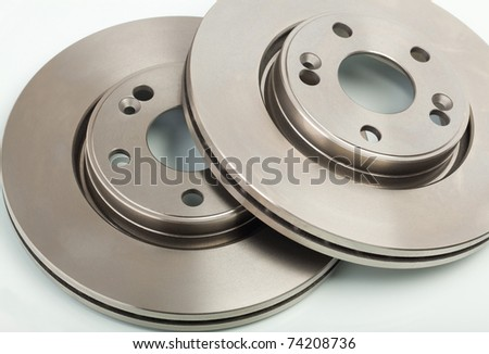 Two brake disk for the car