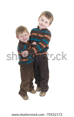 Two brothers share special bond