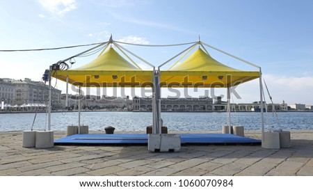 Two Canopy Tents for Exibition Event and Party #1060070984