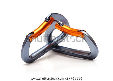 two carabiners