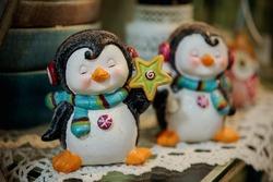 Two Christmas angel dolls new year decor