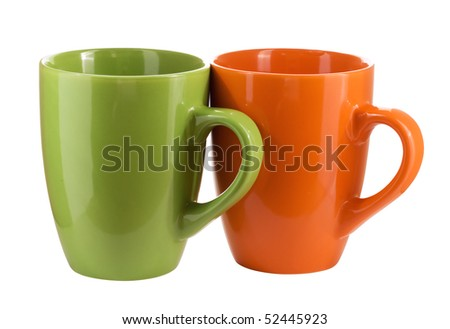 Two color cup