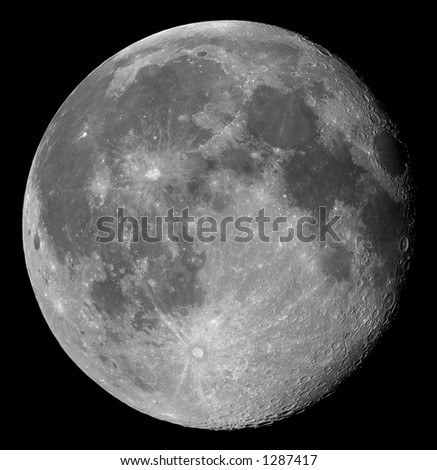 Two days after full, the Moon in its waning gibbous phase