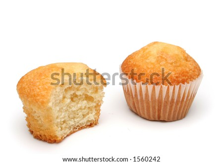 Two delicious muffins. More food images at my gallery