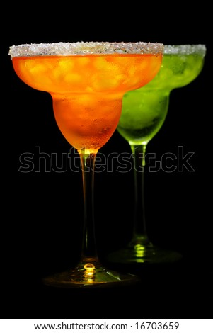 Two drinks - stock photo