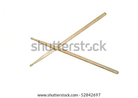 Drum Drumstick Clipart Crossed Drumsticks Clipart