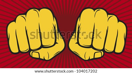 two fists (fist)