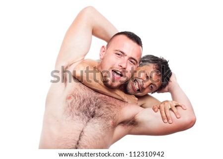 stock photo two funny naked men fighting and wrestling isolated on white background 112310942 ... Jules » free mature women, nude milfs, sexiest olders @ all over ...
