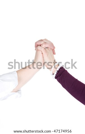 friendship hands pictures. stock photo : Two hands