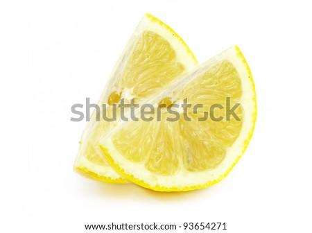 Two Lemons Slices