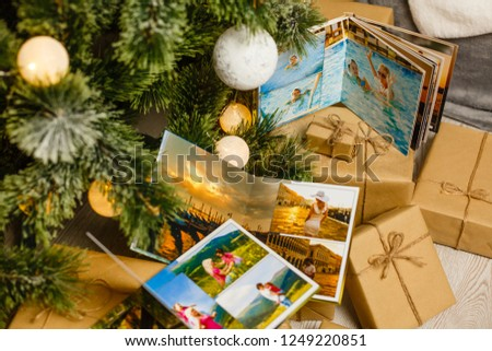 Two of the photo album is decorated in a beautiful photobook. Presented