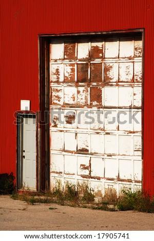 Two old doors