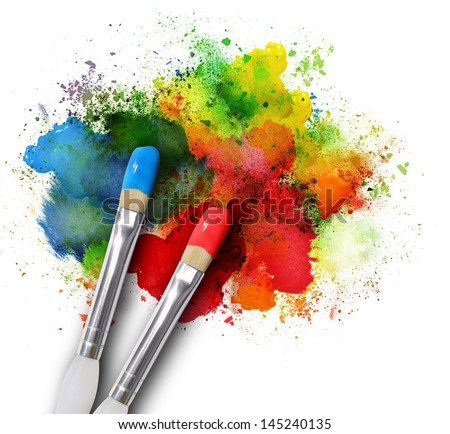 Artistic arts colorful design free images free photos for White rainbow project