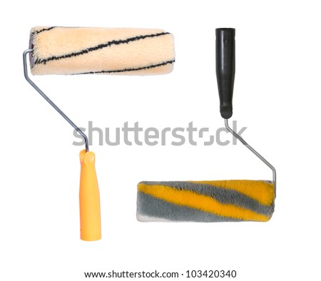 Two painting platens, the tool of the house painter.